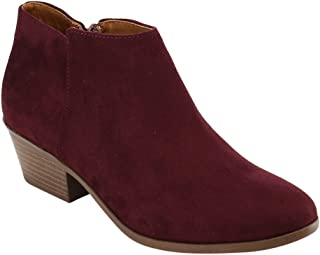 Best burgundy ankle boot Reviews