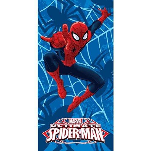 Managal–Toalla Playa Impreso Spiderman Blue