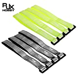 Parts & Accessories Best Deal 4Pcs Rjx 20Mm Fiber High Strength Battery Straps 350-400Mm For Diy Rc Multirotor Fpv Quadcopter Rc Model Accs Ytn Aa - (Color: Yellow 350X20Mm)