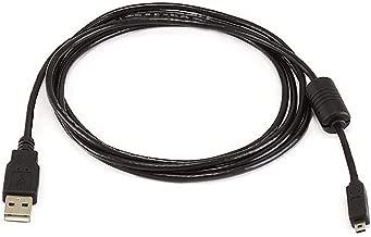 Monoprice 6-Feet A to Mini-B 8pin USB Cable with ferrites for Pentax Panasonic Nikon Digital Camera (102735)