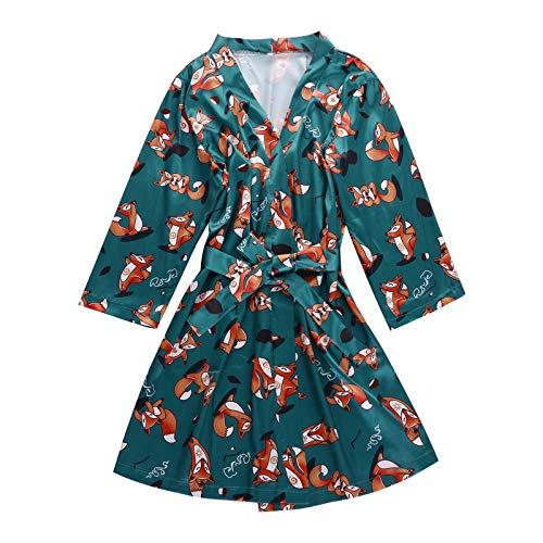 Nachtwäsche Nachthemd Weiß Lang Satin Nachthemd Kurzer Schlafanzug Sexy Nachthemd Damen Erotik Baumwoll Nachthemd Nachthemd Kinder (A1-Grün,M)