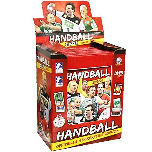 CAGO Handball Bundesliga 2019/20 Sammelsticker- 1 Display (50 Tüten)