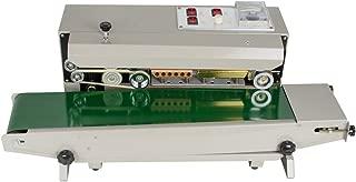 zinnor Continuous Plastic Bag Band Sealing Sealer Machine Automatic Horizontal PVC Membrane Bag Film (Ship from US/Canada)