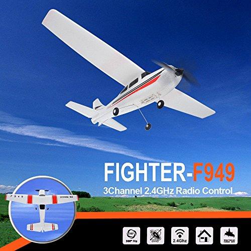 RC Airplane, Colorful WLtoys F949 2.4Ghz 3CH RC Airplane Plane Outdoor Toys Drone ,für Kinder Geburtstag Weihnachten Spielzeug