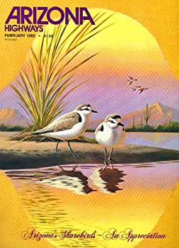 Unknown Binding Arizona Highways, February 1982, Vol 58, No. 2:  Arizona's Shorebirds Book