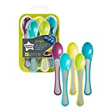 Tommee Tippee Explora Baby Feeding Spoons 7m+, 5 Pieces- Assorted color
