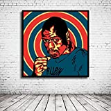 Pop Art Rubin Carter The Hurricane Poster im Rahmen - 95 x