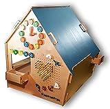 Montessori Wooden Playhouse, misura S, Garden House; feste per bambini; gioco da interno; Playhouse; Play House; Toy House;