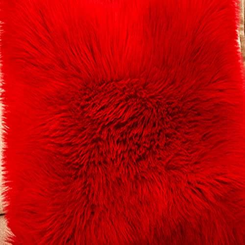 MENEFBS Dazzle - Alfombra de lana de poliéster gruesa y sedosa (70 x 180 cm)