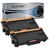 2 Toner Alphaink compatibile con Brother TN-3480, per stampanti Brother DCP-L5500DN L6600DW HL-L5000D L5100DN L5100DNT L5200DW L5200DWT L6250DN L6300DW L6300DWT MFC-L5700DN L5750DW TN3480 (2 Toner)