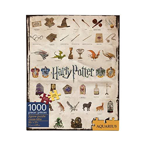AQUARIUS- Harry Potter Puzzle, Multicolor (NMR Distribution 65270)