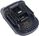 Alianstore Adaptador convertidor DM18M compatible con batería Li-Ion Makita 18V 20V,...