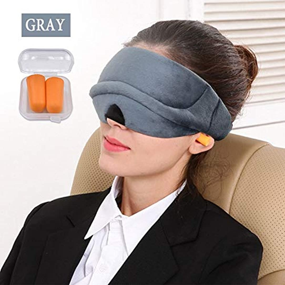 ストロー退却引数NOTE 3d睡眠マスク睡眠補助アイマスクアイシェードカバーアイパッチ旅行の残りの部分通気性のベルベット生地目隠し包帯アイパッチ