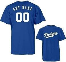 Custom Los Angeles Dodgers Replica Jersey Tee