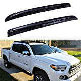 INEEDUP Cross Bars Roof Rack Fit For 2005-2019 for Toyota Tacoma Double Cab OE Style Bolt-On Roof Rack Rail Cross Bar Luggage Cargo Carrier,2-Pack