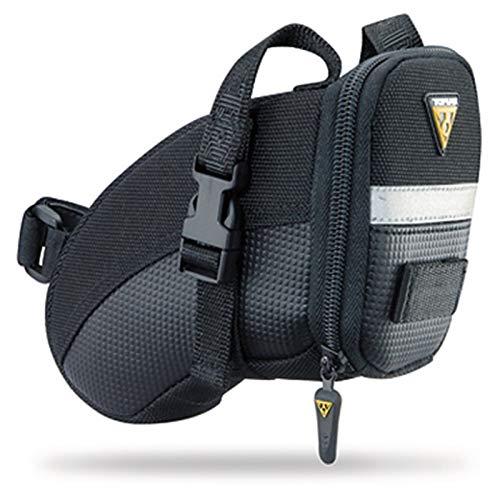 TOPEAK Aero Wedge Pack Fahrrad Sattel Tasche Sattelstütze QuickClick Kompakt Rennrad MTB, 15000006, Größe medium