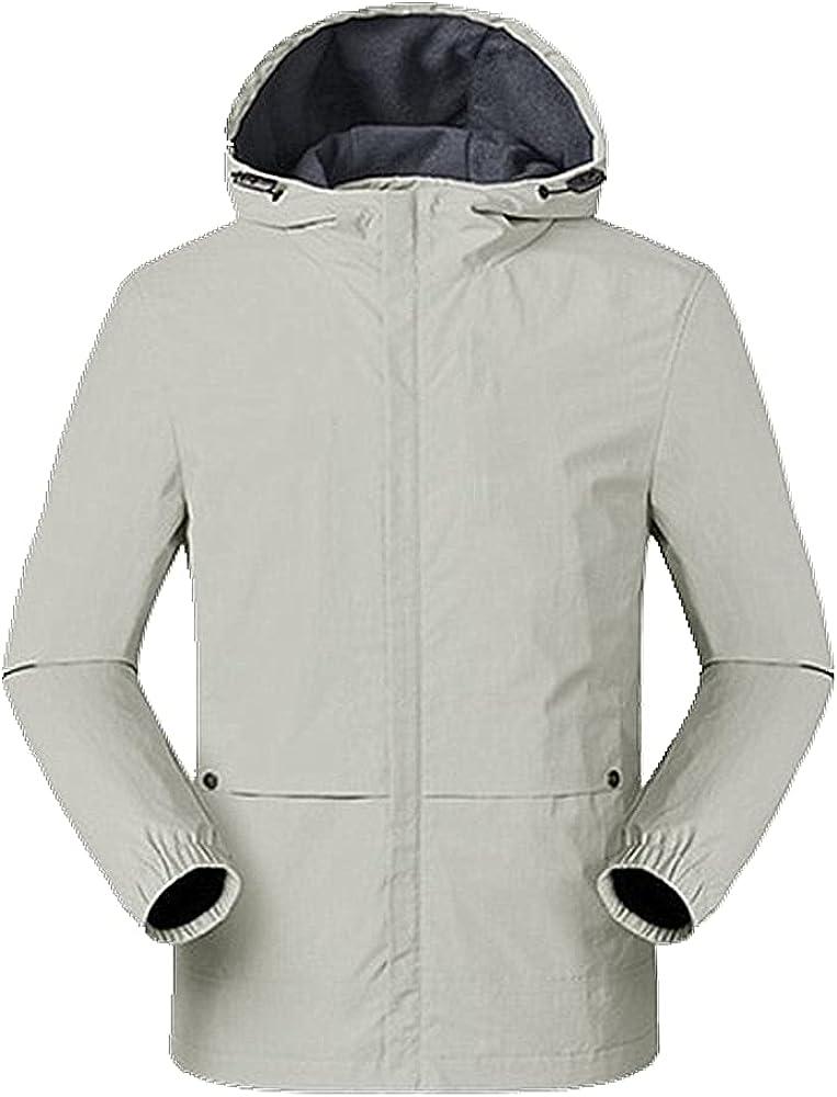 Spring Autumn Outdoor Men's Thin Casual Wear Windproof Waterproof