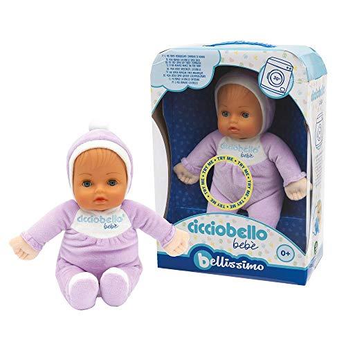 Giochi Preziosi CCC00201 - Cicciobello Bebè Bellissimo Bambola per neonati, 0m+, Colori Assortiti, 1 Pezzo