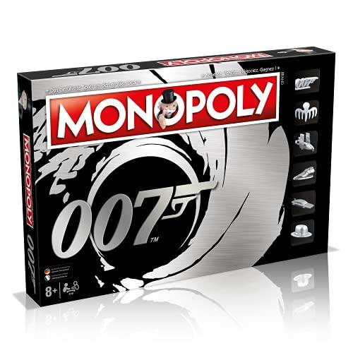 Winning Moves Monopoly James Bond Version française, WM00354