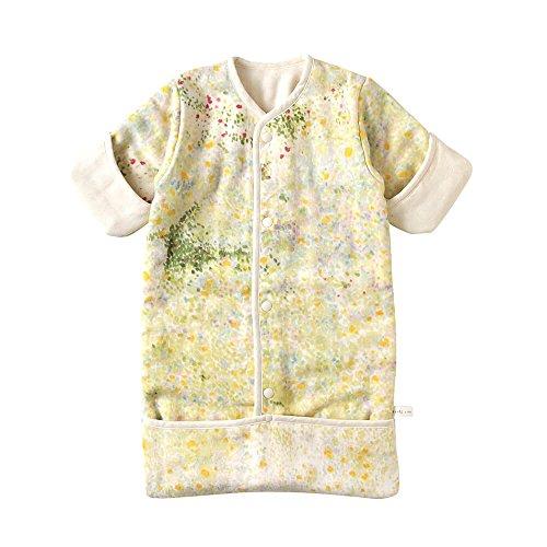 [10mois(ディモワ)-NAOMIITO]ふくふくガーゼ(6重ガーゼ)おくるみスリーパーコットン100%ibuki着丈58cm新生児~3歳頃まで18231010