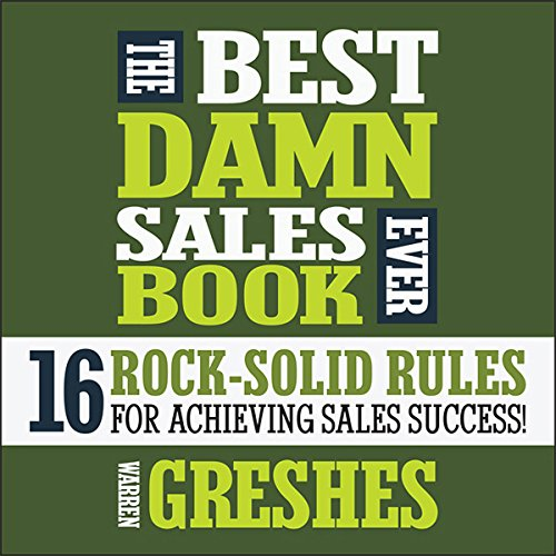 The Best Damn Sales Book Ever audiobook cover art