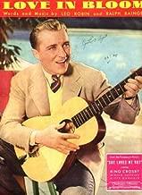 Love In Bloom Original 1934 Vintage Sheet Music from