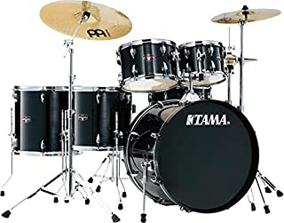 Tama Imperialstar Complete Drum Set - 6-Piece - Hairline Black