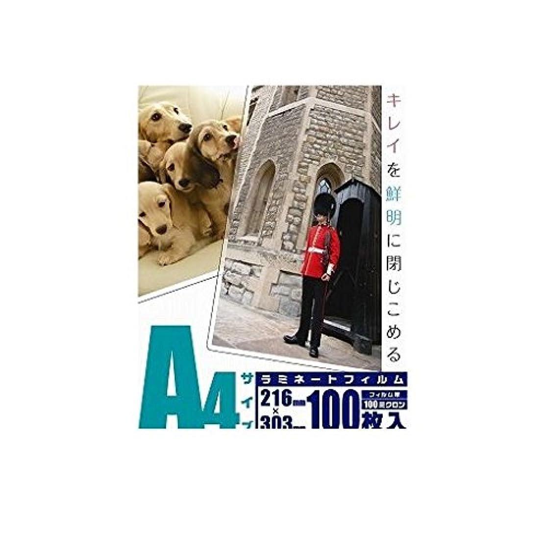 消化器不透明な融合GP03904 ラミネートフィルム 100μ A4 100枚