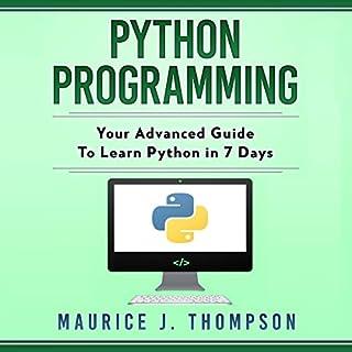 Python Programming audiobook cover art