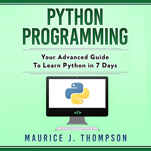 Python Programming Audiobook By Maurice J. Thompson cover art