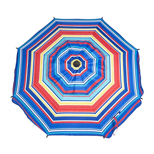 CREVICOSTA. Sombrilla 200cm con Espiral, diseño MULTIFUSIÓN