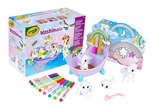 Crayola-74-7354 Washimals Animas Fantasticos, multicolor, Ta