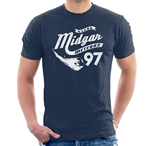 Go Meteors Midgar Final Fantasy VII Men's T-Shirt