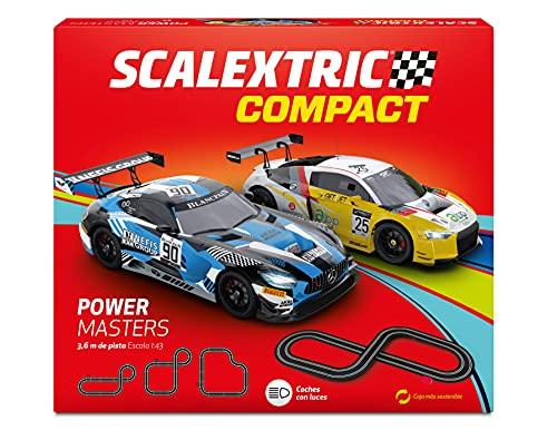 Scalextric- Power Masters Pista-Circuito, Multicolor...