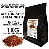 Cacao Venezuela Delta - Cacao en Polvo Puro 100% · Alcalinizado · Desgrasado 10-12% · 1kg