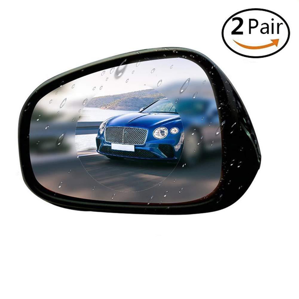 2 Pair 10x10cm Car Side Tampa Genuine Mall Glass Coating Window Rainproof Protectiv