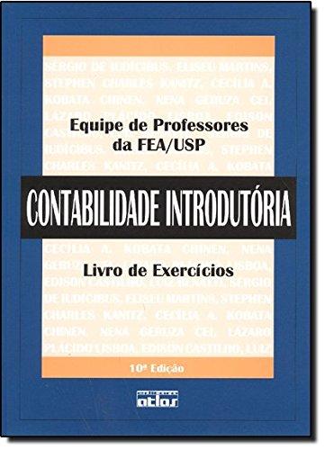 Contabilidade Introdutória. Livro De Exercicios
