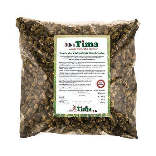 Tima Cornless Kräuterpellets für Meerschweinchen 2,5 kg (ohne Getreide!)