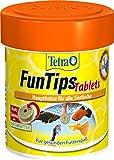 Tetra FunTips Tablets, Haft Futtertabletten als Hauptfutter fr alle Zierfische, verstrken die Farbkraft und sorgen fr gesunde und vitale Fische, verschiedene Gren