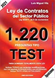 1220 Preguntas Tipo Test. Ley de Contratos del Sector Público