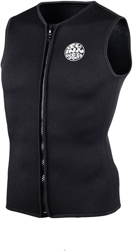 5 ☆ popular Wetsuit Tops Popular brand Mens Premium Neoprene with 3mm Zipper Front Diving