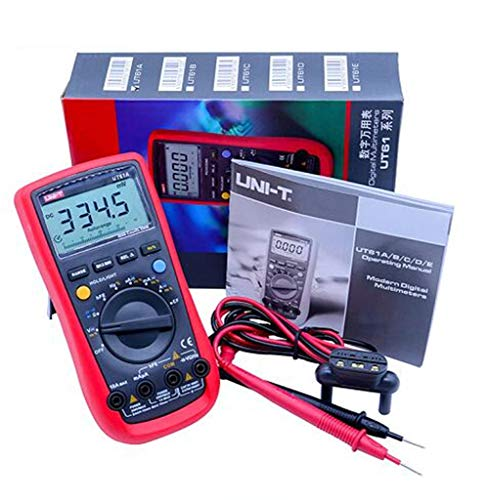 GMtes UT61A UT61B UT61C UT61D UT61E Digital Multimeter, True RMS AC DC-Meter-Software CD & Automatikbereich von Datenkollektoren mit LCD-Backlight-Display,UT61A