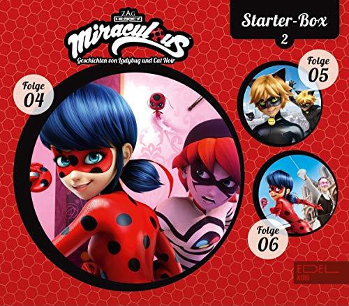 Miraculous - Geschichten von Ladybug & Cat Noir - Starter-Box 2 (4-6) - Die Original-Hörspiele zur TV-Serie