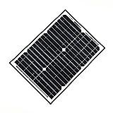 ALEKO SP20W24V 20 Watt 24 Volt Monocrystalline Solar Panel for Gate Opener Pool Garden Driveway