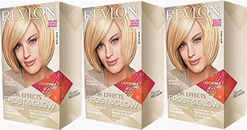 Revlon Colorsilk Color Effects Frost and Glow Highlights, Blonde, 3 Count