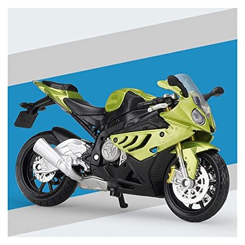 DSWS Motocicleta Miniatura 1:18 para B-M-W R 1200 C Aleación Diecast Modelo Modelo de Motocicleta Trabajable Juguete de Absorbidor de Colores para Niños Regalos Colección de Juguetes (Color : 7)