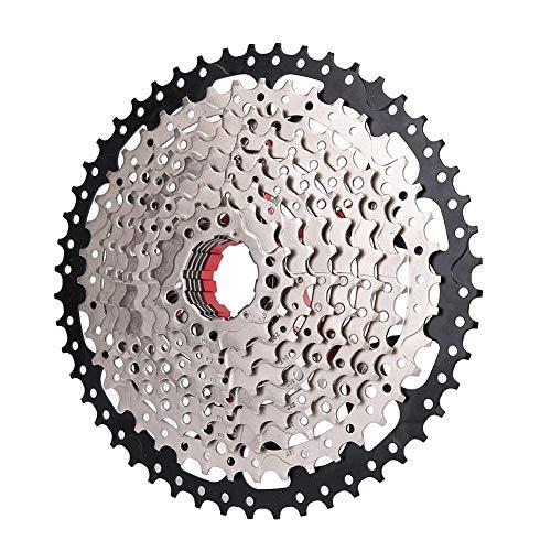 VGEBY Fahrrad-Geschwindigkeits-Kassette, Fahrrad-Schwungrad-Kettenrad 10-Gang-Freilauf für Kettenblatt zwischen 11-50T