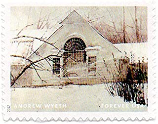 USA Postage Stamp Single 2017 Andrew Wyeth Painting Issue Forever (49 Cent) Scott #5212H