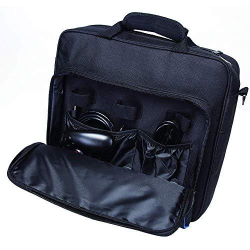 Tragetasche für PS4, PlayStation Tragetasche Schultertasche Handtasche kompatibel mit PlayStation PS4, PS4 Pro, Konsole und Zubehör