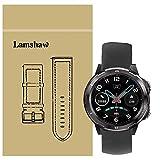 LvBu Cinturino Morbido Silicone Braccialetto Sportiva di Ricambio per UMIDIGI Uwatch GT/Uwatch 3 Smartwatch (Noir)